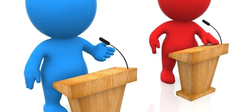The Exchanging of Political Ideas — Joining the Debate