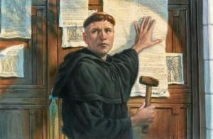 95 theses & Protestant Reformation