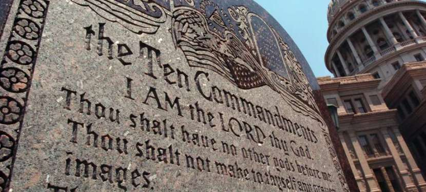 The Ten Commandments Matter